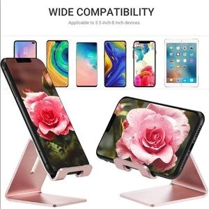 🍭3/25🍭 NWT Aluminum Rose Gold Cell Phone Holder